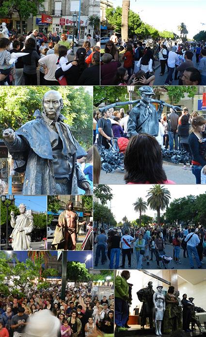 Compilado concurso de estatuas.